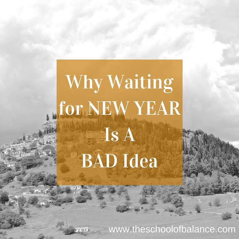 waiting for new year blog