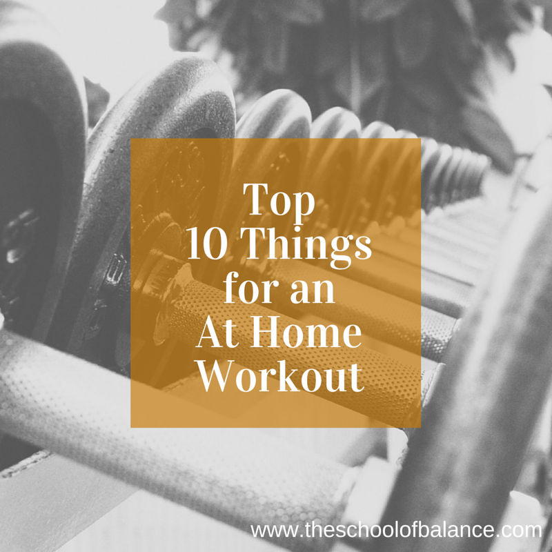 At home workout blog