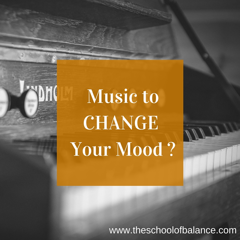 Music to change your mood